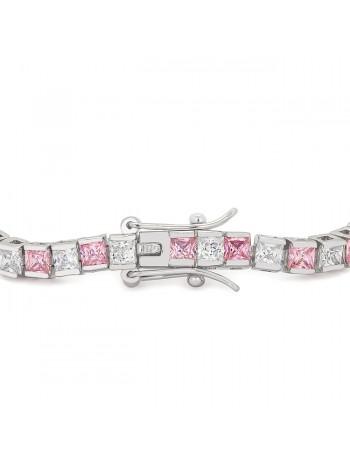 Valentine Cubic Zirconia Tennis Bracelet