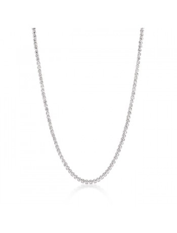 Long Elegant Cubic Zirconia Necklace