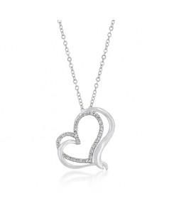Woven Hearts Pendant