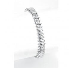 Wholesale Bridal Tennis Bracelet in Marquis CZ