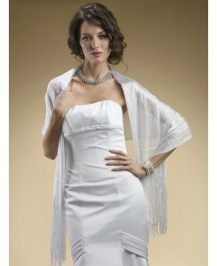 Metallic Weave Wrap for Weddings or Proms