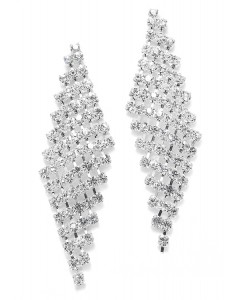 Classic Rhinestone Earrings