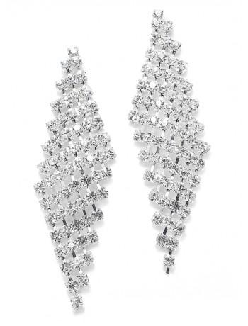 Classic Rhinestone Earrings