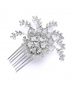Top Selling Prom or Wedding Crystal Spray Comb