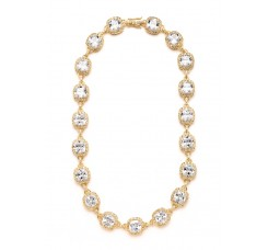 Best Selling Wedding or Pageant Necklace with Cushion Cut CZ