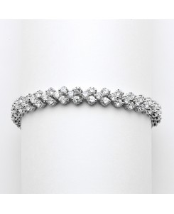 Petite Cubic Zirconia Wedding or Prom Tennis Bracelet