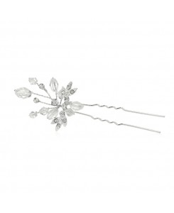 Sparkling Crystal Twigs Wedding Hair Stick