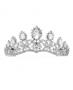 Royal Wedding Tiara with Dramatic Curve
