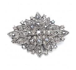 Vintage Floral Bridal Brooch